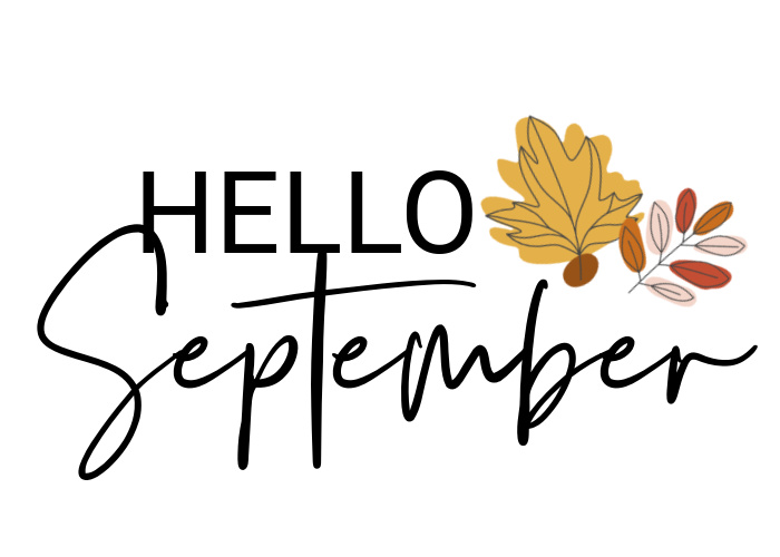 Free Hello September Art Print - This is our Bliss