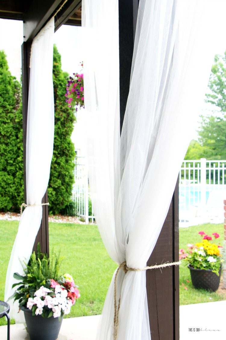 Diy Under Deck Outdoor Curtains For Under 20 This Is
